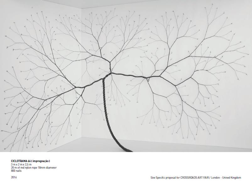 Janaina Mello Landini, Ciclotrama 66 (impregnação), 2016