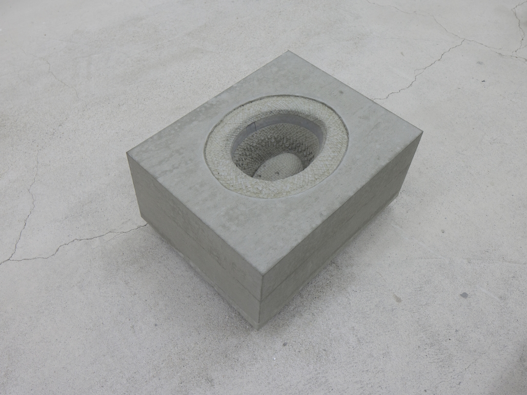 Marlon de Azambuja, Gran Panama (2020), concrete; dimensions variable