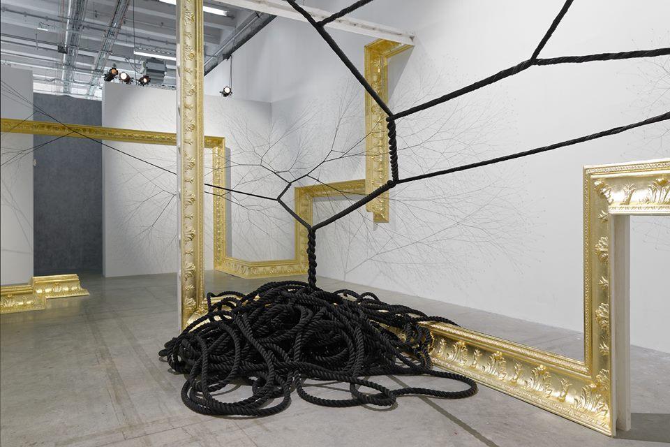 Ciclotrama 36 at Palais de Tokyo (installation view)