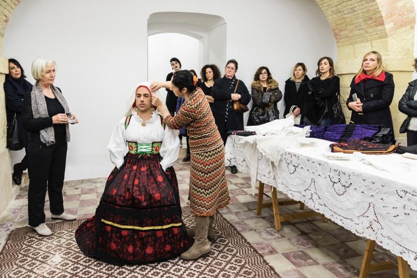 Ruben Montini, La Vestizione della Sposa, 2016 - Ph Ela Bialkowska - OKNOstudio