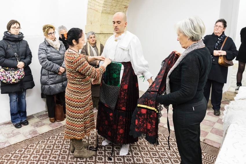 Ruben Montini, La Vestizione della Sposa, 2016. Ph Ela Bialkowska - OKNOstudio, courtesy of the artist